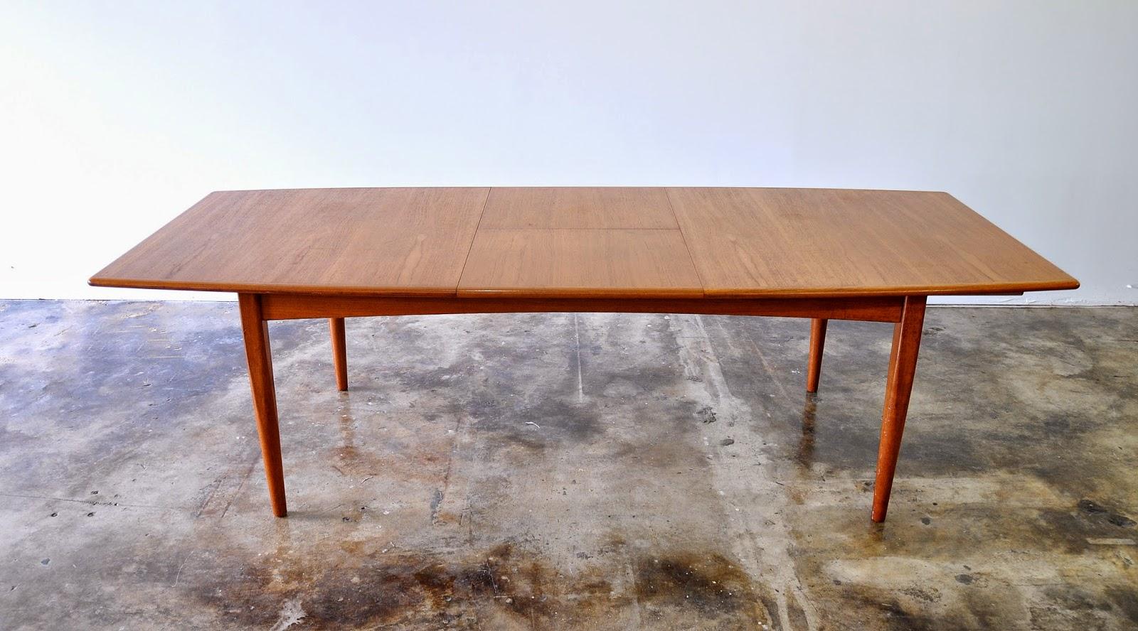 SELECT MODERN Falster Teak Expandable Dining Table : DanishModernFalsterTeakDiningTable3 from midcenturymoderndesignfinds.blogspot.com size 1600 x 888 jpeg 289kB