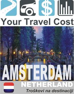 Amsterdam, Holandija – Trošak