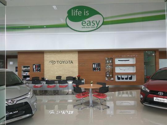 Showroom Toyota Auto 2000 Jatiasih Bekasi