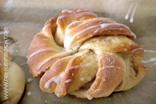 Zimtknoten - Kanelknuter | Foodblog rehlein backt