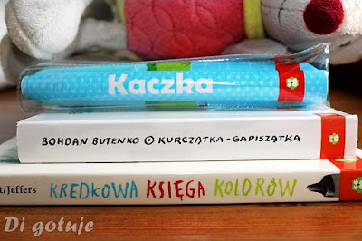 Kredkowa księga kolorów, Kurczątka-Gapiszątka i Kaczka - książeczka do kąpieli - recenzje