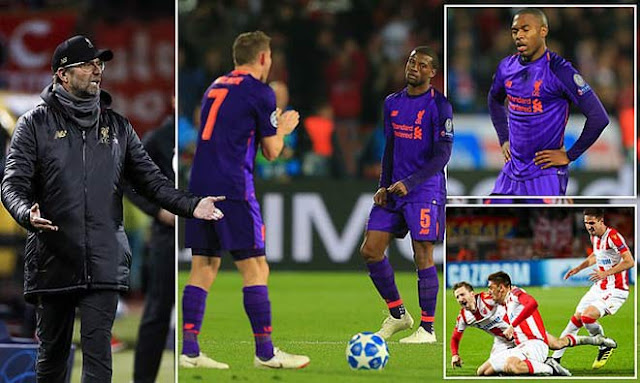 Liverpool thua cực sốc tí hon: Kỷ lục tệ hại dễ loại đau đớn