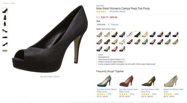 Investiga la página de ventas del producto de la competencia para obtener información relativa a las keywords