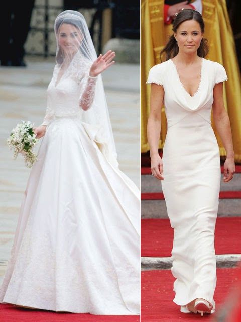 Bride Vs Brides Maid dresses!
