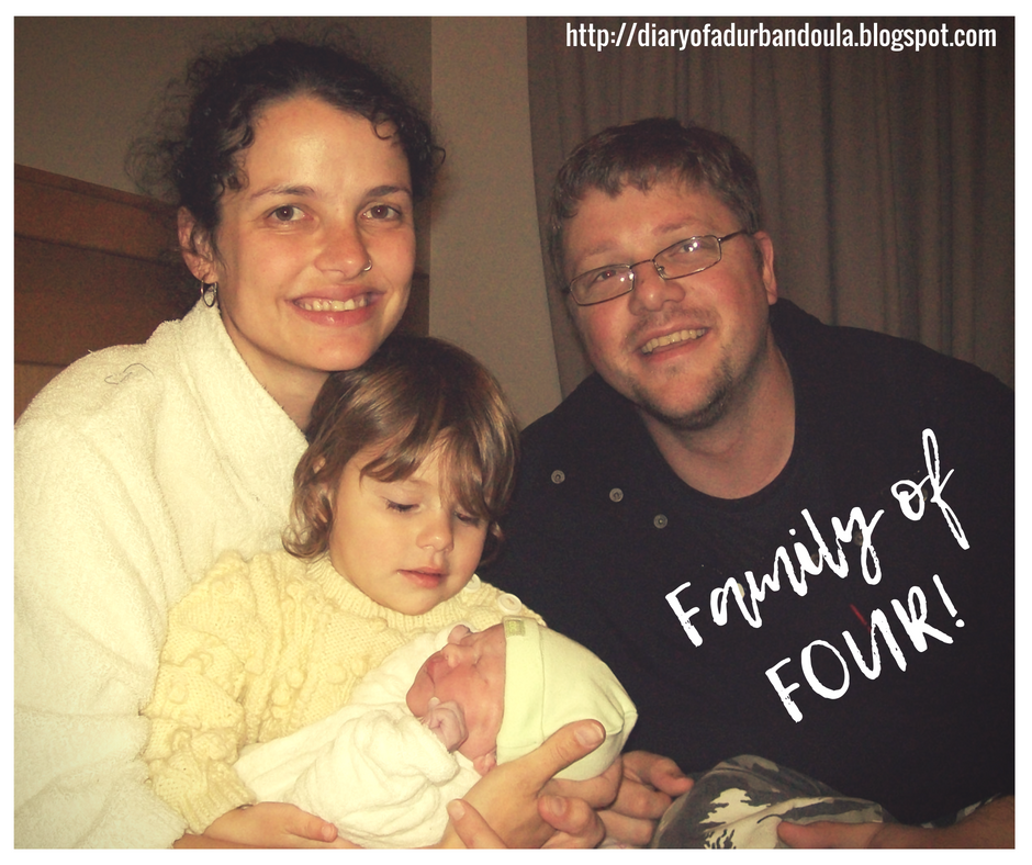 Home birth - Family of Four