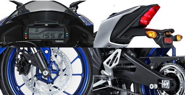 Fitur Yamaha R15