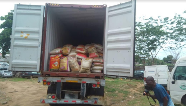 Ogun Customs intercepts 1,963 bags of foreign rice in two weeks