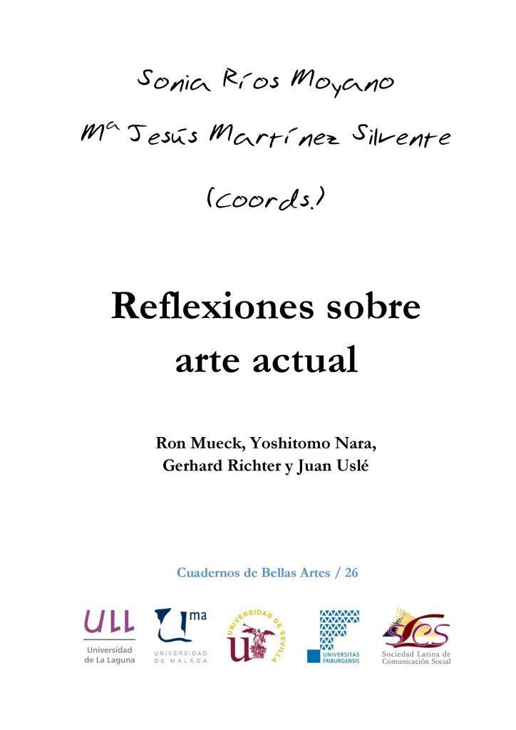 Reflexiones sobre arte actual – Sonia Ríos Moyano
