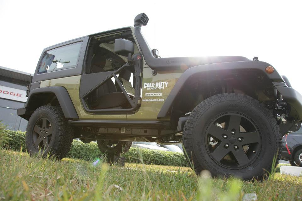 Vibraniumx Jeep Wrangler Unlimited Call Of Duty 2013