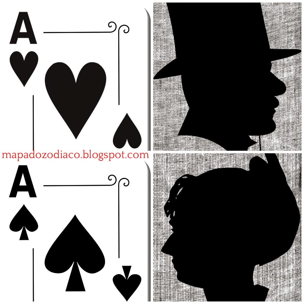 significado cartas pessoais no baralho lenormand
