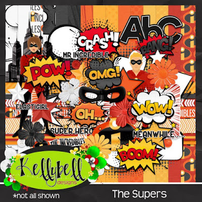 The Supers - New from Kellybell Designs