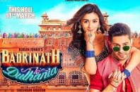 Badrinath Ki Dulhania 2017 Hindi Movie Watch Online