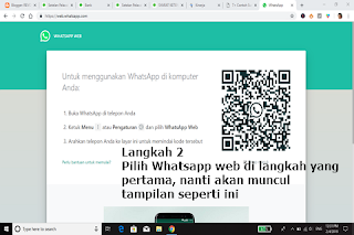 install whatsapp web di windows 10