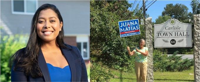 La dominicana Juana Matías derrotada en primarias demócratas de Massachusetts al congreso de Estados Unidos