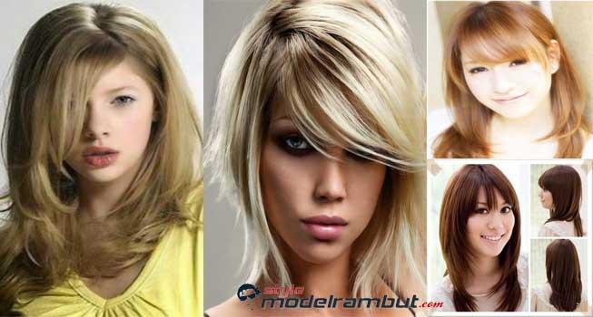 Model Rambut Layer Wanita Korea