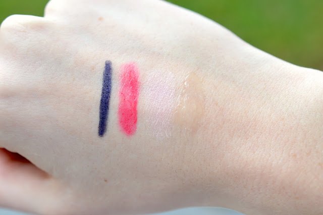 faceshop swatches