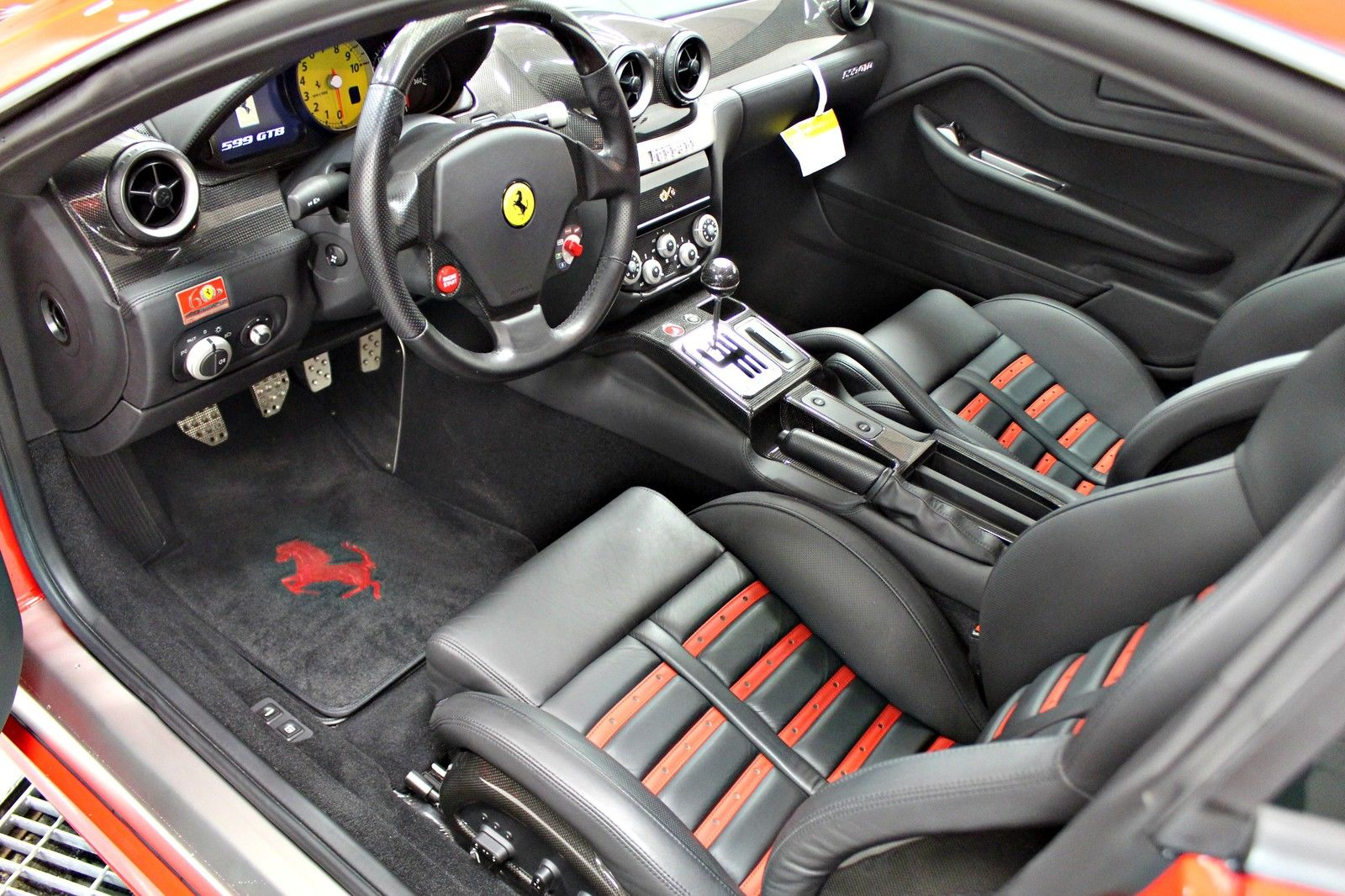 Rare Manual Ferrari 599 Gtb Arrives On Ebay Carscoops