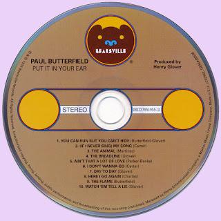 paul butterfield put it in your ear 1976