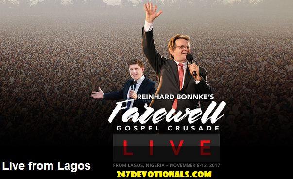LIVE STREAM - Evangelist Bonnke's Farewell Crusade