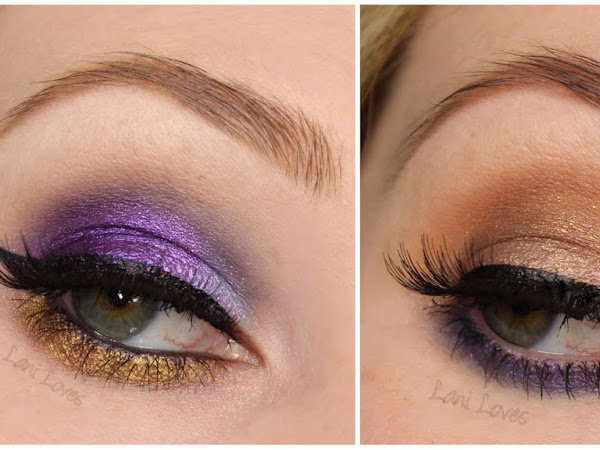 Notoriously Morbid Eyeshadows - Victorian Gypsy, Montauk Monster, Fight For Beauty, Timeshift and Use Your Magick Swatches & Review