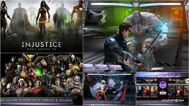 injustice god among us android app
