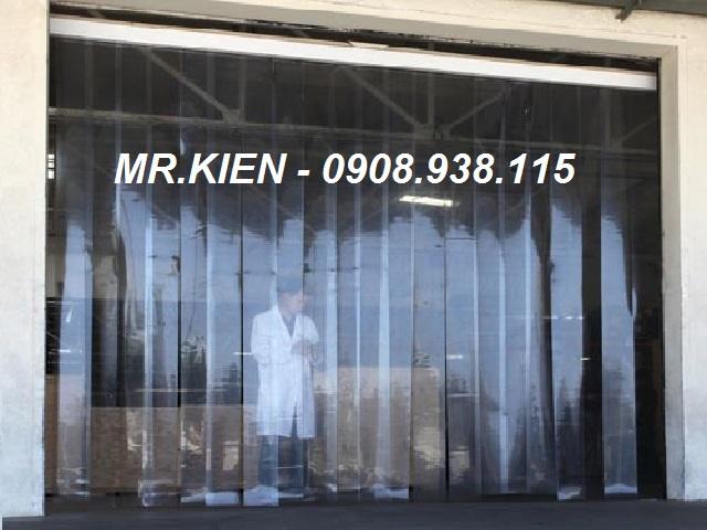 Lắp đặt màn rèm cửa nhựa PVC Nhà máy Bia Sài Gòn - Bình Dương