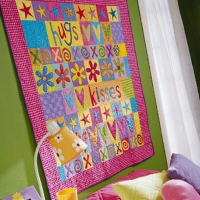 Tutorial Treasures Hugs And Kisses Quilt