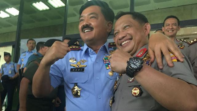 Hadi Tjahjanto Izin ke Tito untuk Salat dan Minta Minum di Polres
