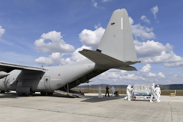 NATO Vigorous Warrior bio-containment transport