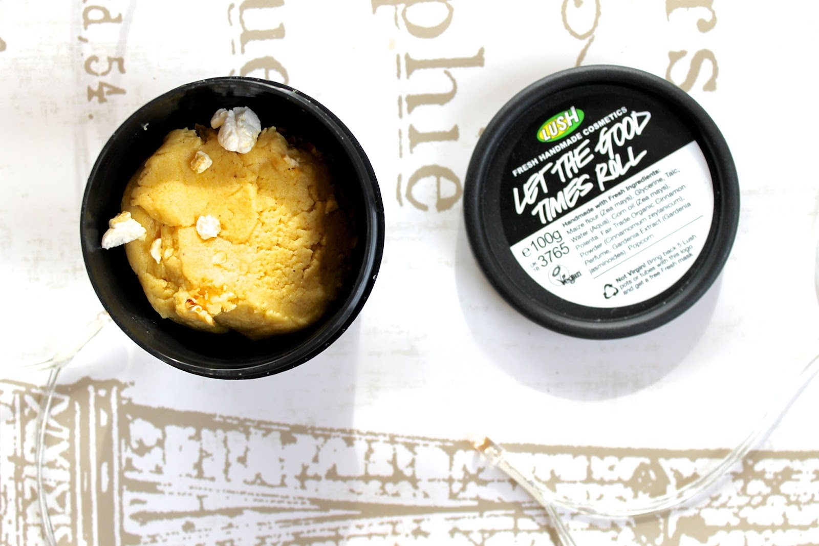 LUSH let the good times roll exfoliator