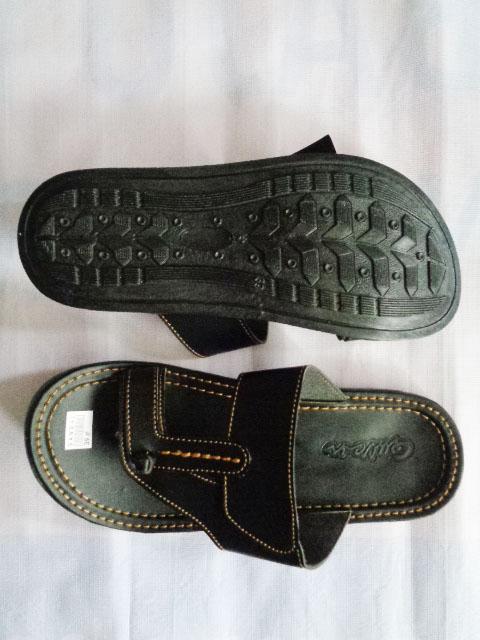 Sandal CIPACUNG TASIK Queen PRIA hitam atas