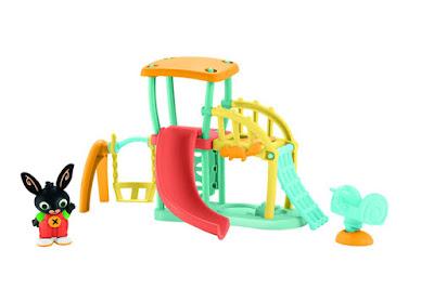 JUGUETES - BING  Patio de Recreo - Parque Infantil  Mattel | Fisher-Price | A partir de 2 años  SERIE INFANTIL CLAN TELEVISION  Comprar en Amazon España