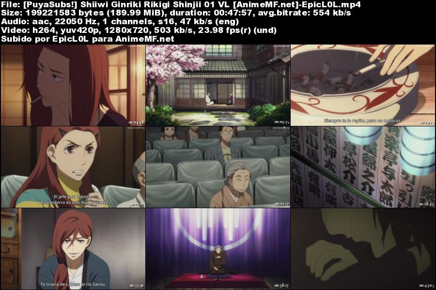 Descargar Shouwa Genroku Rakugo Shinjuu Sub Español MEGA