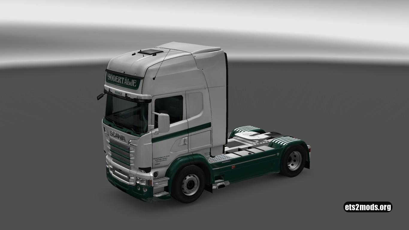 Sweden v4 Skin for Scania RJL