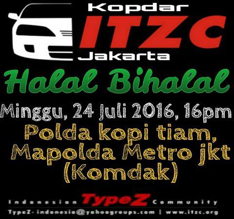 Halal Bihalal ITZC Jakarta