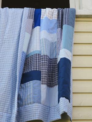 le patchwork bleu - papillottes.blogspot.com