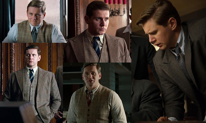 The Butterfly Balcony: Costumes from The Imitation Game John Cairncross