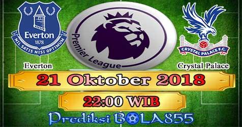 Prediksi Bola855 Everton vs Crystal Palace 21 Oktober 2018