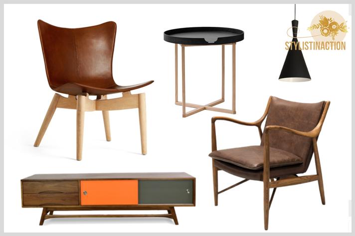 muebles de estilo escandinavo mesas sillas sillon mueble bajo