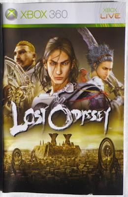 Lost Odyssey - Manual portada