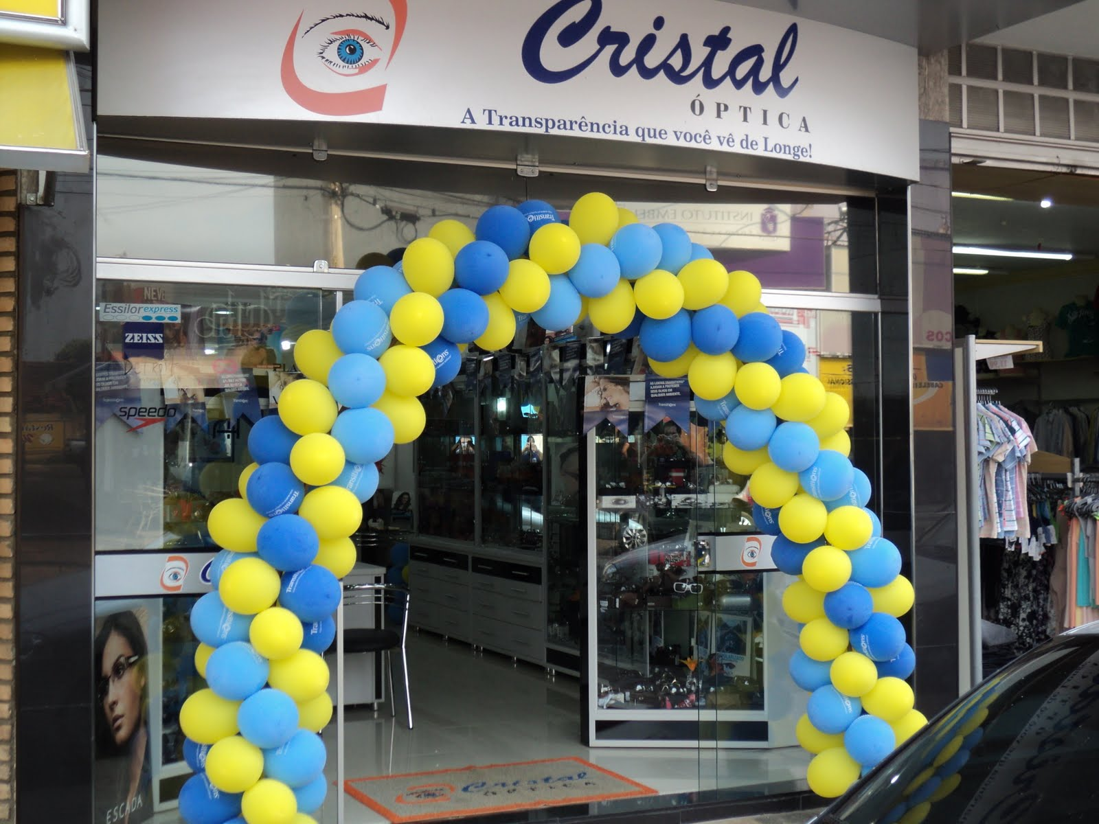 f31f3edbfbdce Dia Transitions Santa Fé - Ótica Cristal do Sul   Paulo Transitions