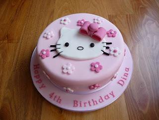 Gambar Kue Hello Kitty yang Lucu 4