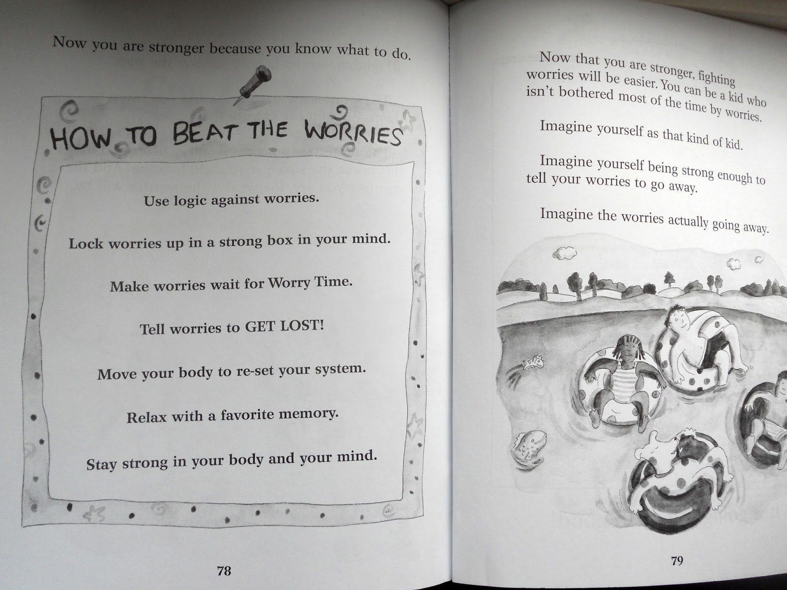 Missus B S Picture Book Reviews What To Do When You Worry