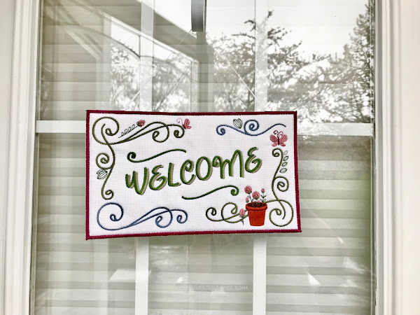 Seasonal Welcome Signs