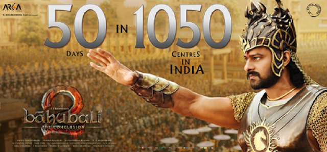 50 Days For Bahubali 2