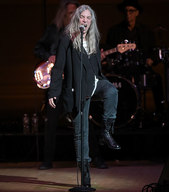Patti Smith recevra le prochain John Lennon Real Love Award