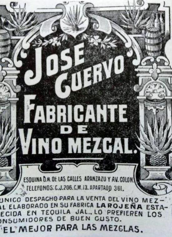 Jose Cuervo Vino Mezcal ad
