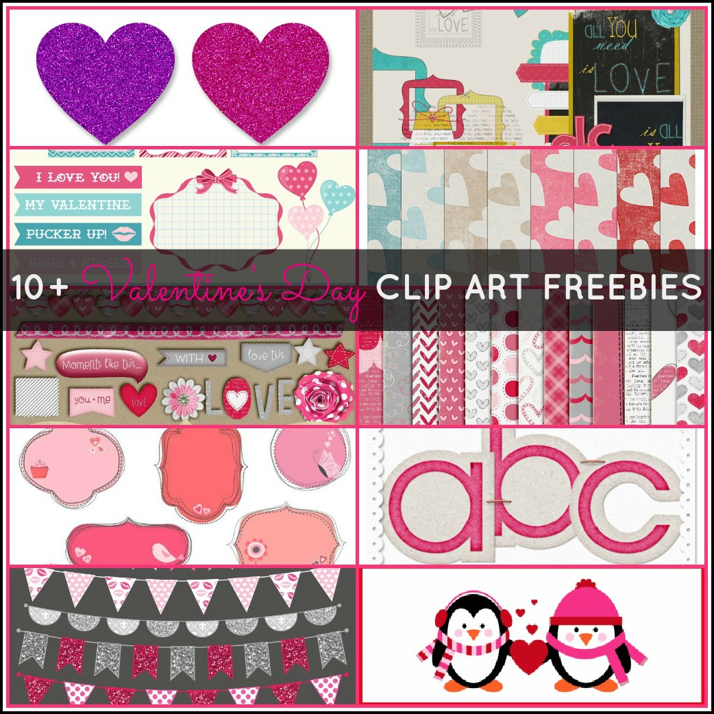 10 Great Valentine's Day Clip Art Freebies {5+5 Fridays ...