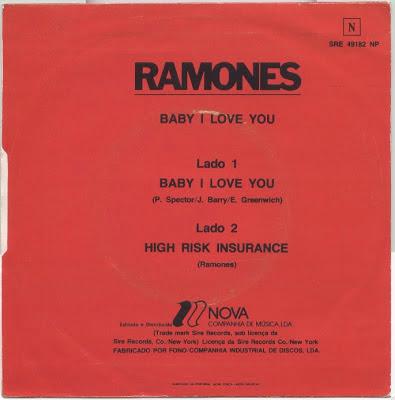 Ramones On Vinyl Ramones Made It In Portugal