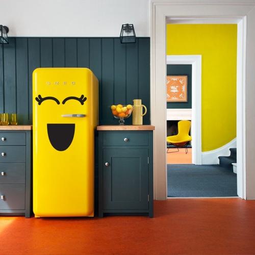 adesivo geladeira fazer